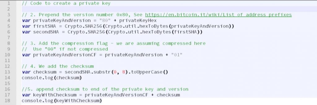 Craig Wright - Generating a Bitcoin address